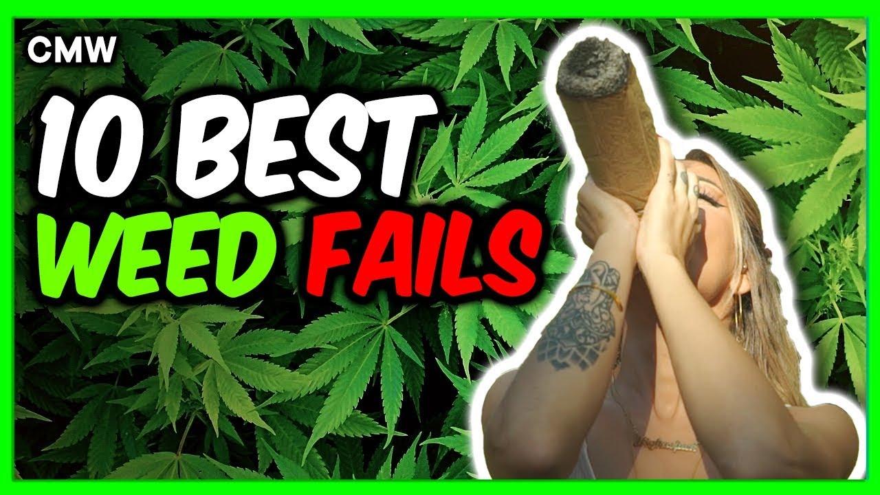 Top 10 Weed Smoking Fails #3 1