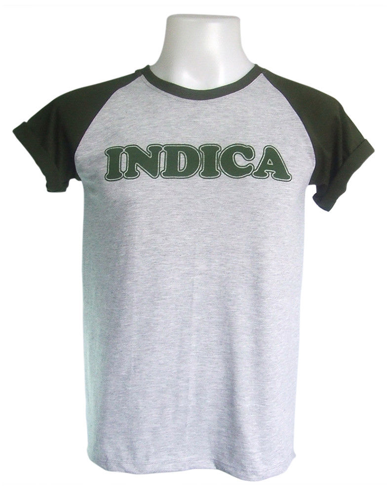 Indica 420 Celebrate Cannabis Layout Weed Marijuanas Gray T-Shirt size S-XL 1
