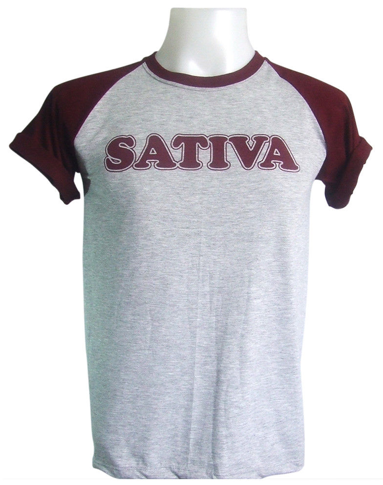 Sativa 420 Celebrate Hashish Design Weed Marijuanas Grey T-Shirt measurement S-XL 1