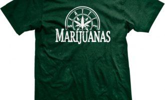 Seattle Marijuanas Parody Humorous Humor Weed Pot Leaf Stoner Ganja 420 Mens Tshirt 4