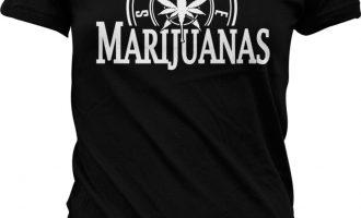 Seattle Marijuanas Parody Amusing Humor Weed Pot Leaf Stoner Ganja Juniors T-shirt 13