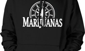 Seattle Marijuanas Parody Funny Humor Weed Pot Stoner Hoodie Pullover Sweatshirt 7