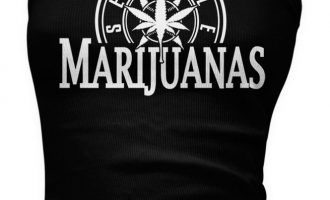 Seattle Marijuanas - Pot Head Weed Funny Sayings  Boy Beater Tank Top 4