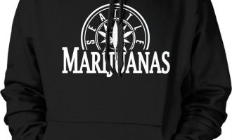 Seattle Marijuanas - Pot Head Weed Funny Sayings  Hoodie Pullover 8