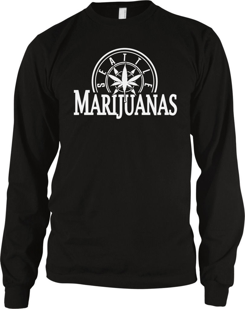Seattle Marijuanas - Pot Head Weed Amusing Sayings  Extended Sleeve Thermal 1