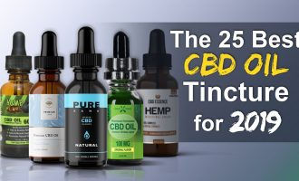 The 25 Best CBD oil Tinctures for 2018 [Update] 5