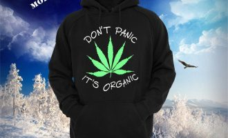 Hooded Sweat Hoodie Don't Stress it's Organic and natural Hemp Natural Pot Health-related Marijuana 10