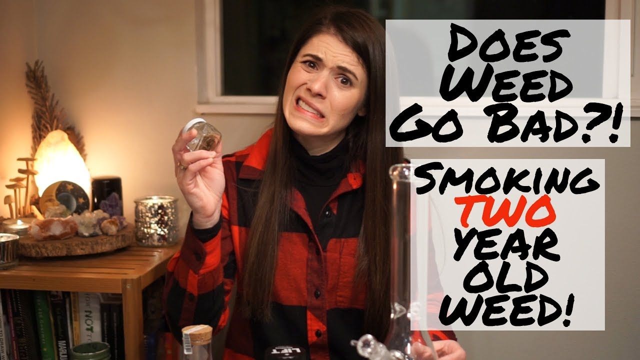 Does Weed Go Bad?! Smoke TWO Year old Weed! 1