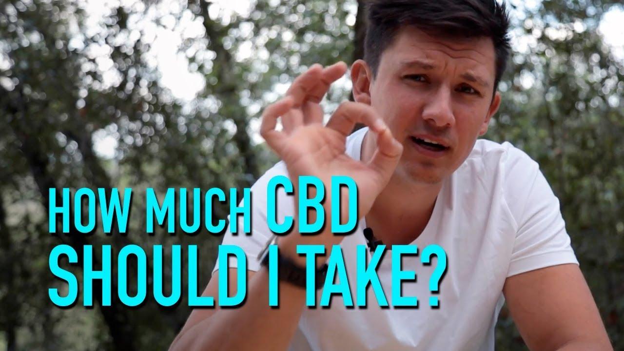 How much CBD should i take? 1