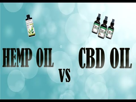 Difference between CBD oil and Hemp oil -PHARMACIST EXPLAINS 1