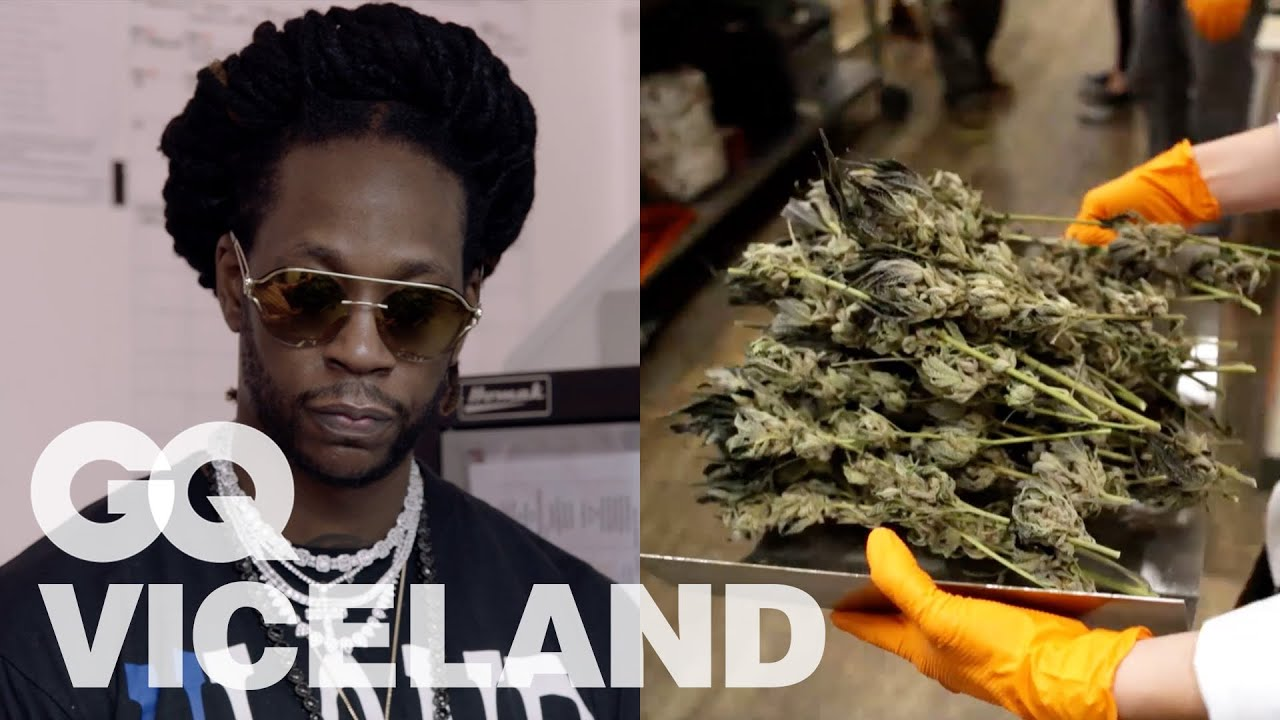 2 Chainz Checks Out California's First Legal Weed Cultivator   Most Expensivest   VICELAND & GQ 1