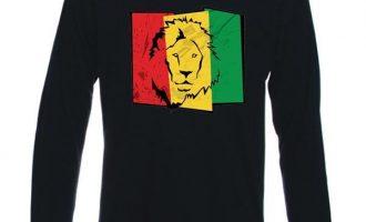 LION OF JUDAH FLAG LONG SLEEVE - rasta, reggae, bob marley, cannabis, marijuana 5