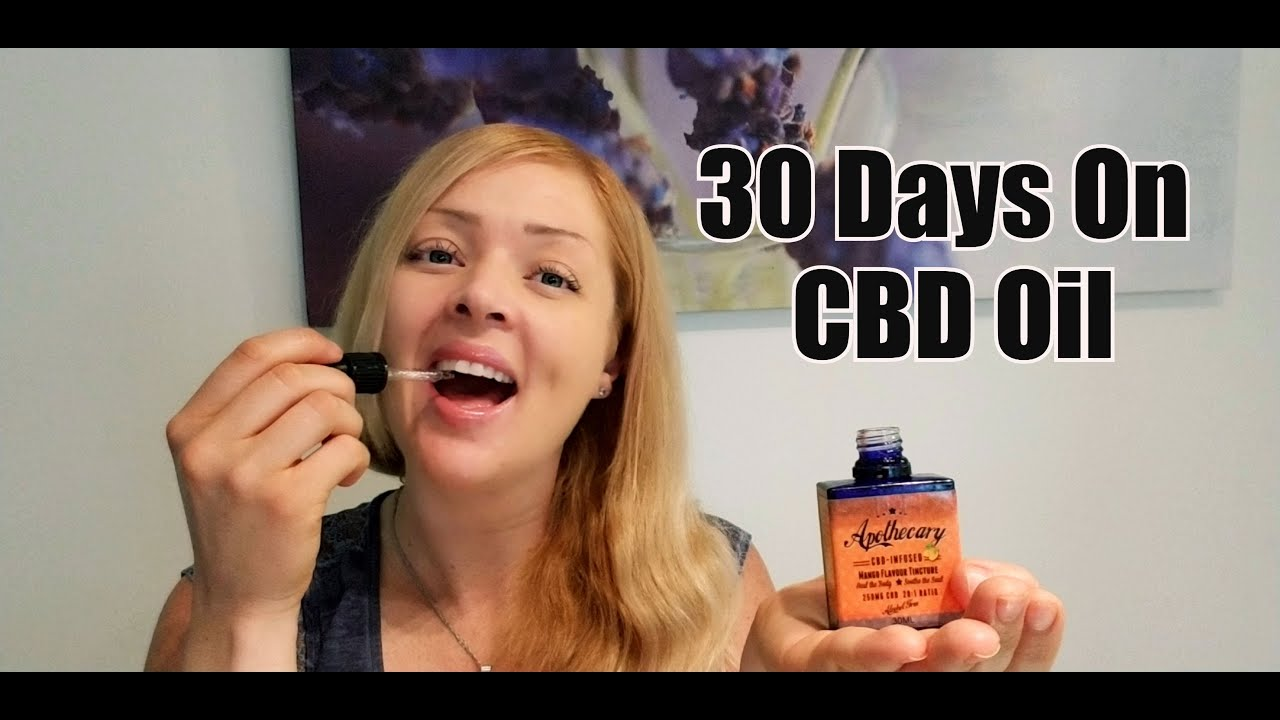 How My Body Reacted To Taking CBD Oil For 30 days 1