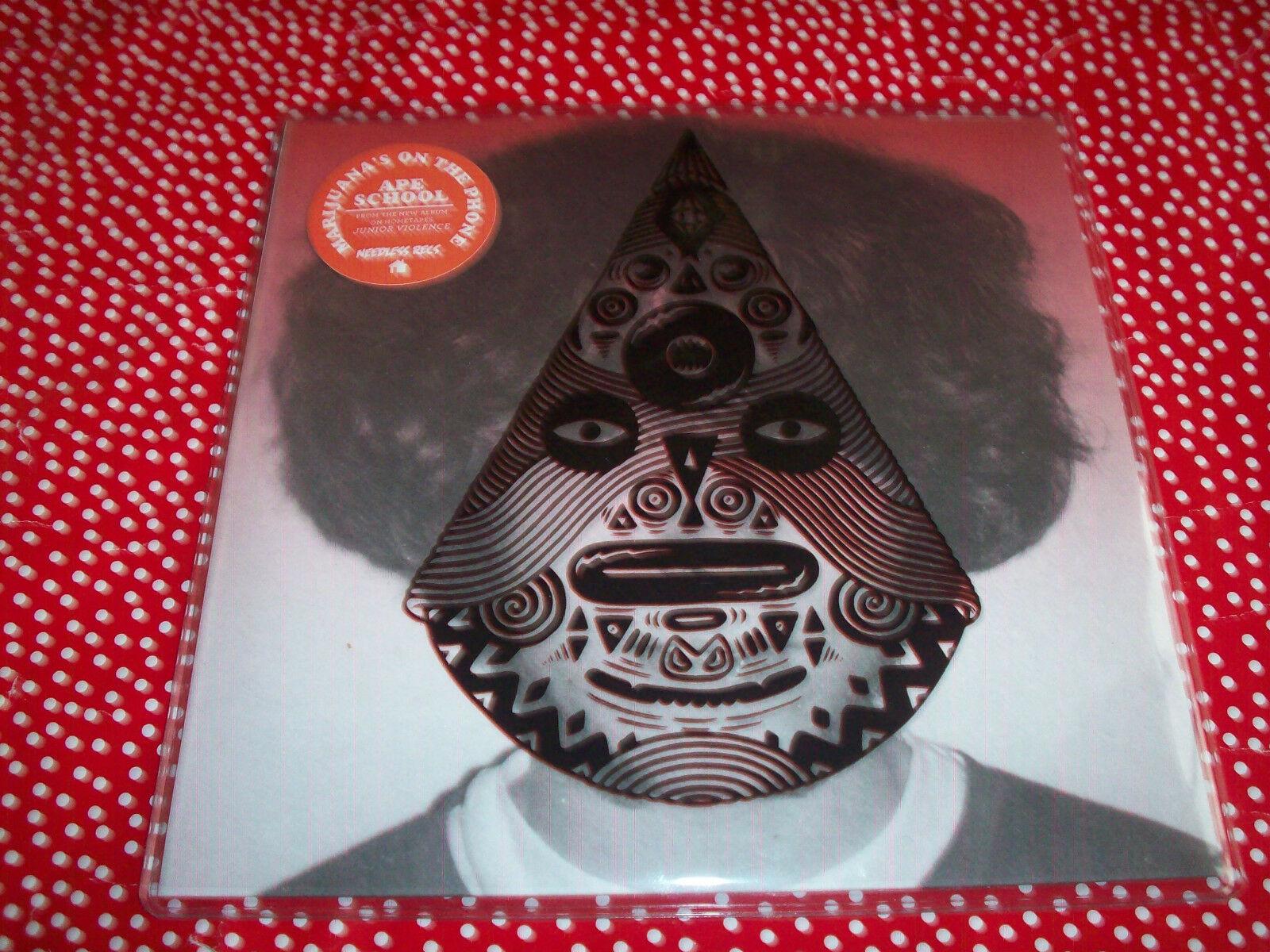 "Ape School- Marijuana's On The Phone 7"" Vinyl 45 RPM Single NEW 1"