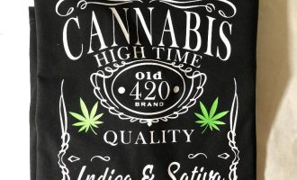 MENS HIGH TIMES 420 CANNABIS T SHIRT WEED JACK DANIELS DESIGN MARIJUANA 11