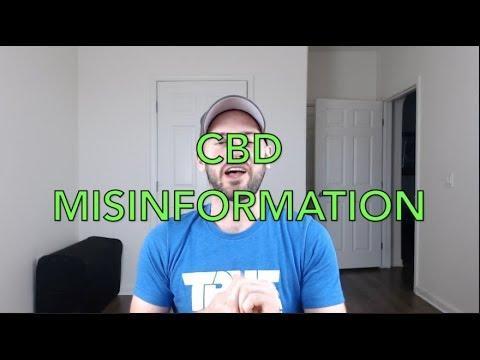 CBD Misinformation:  Dosing 1