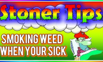 STONER TIPS #57: SMOKING WEED WHEN YOUR SICK (Is It Okay?) 1