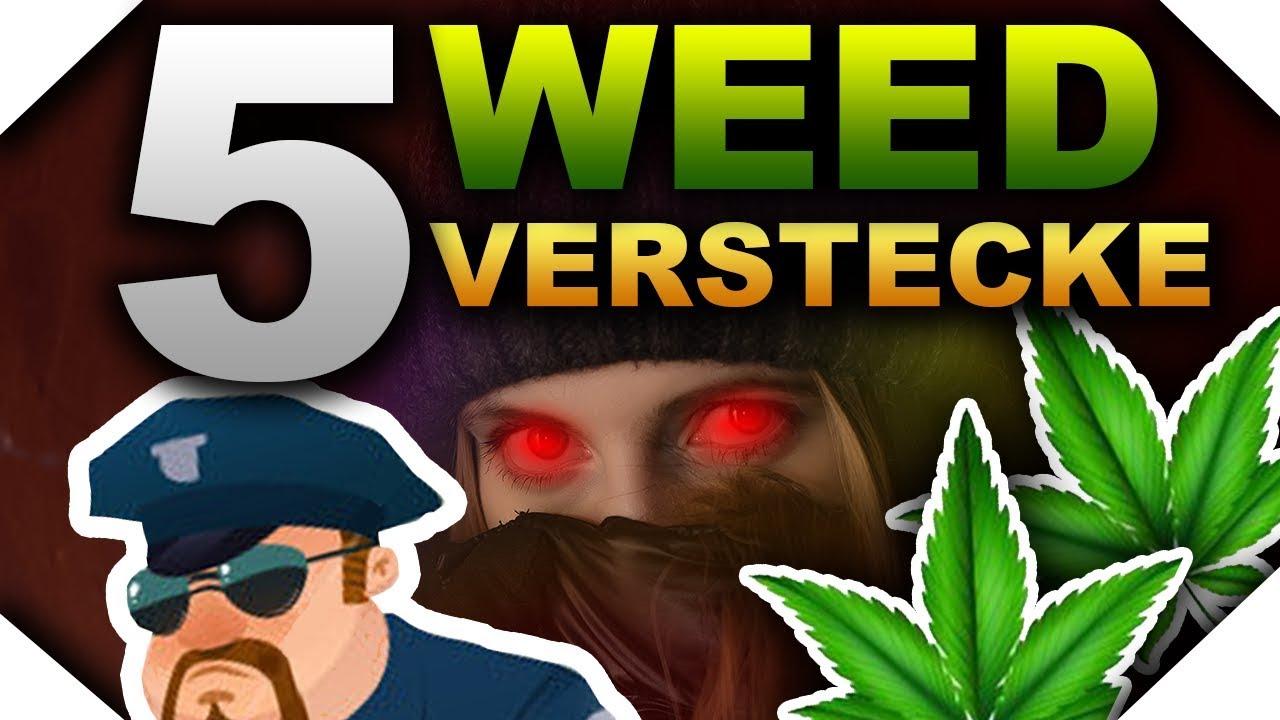 Die 5 besten WEED Verstecke | STONER TRICKS #2 1