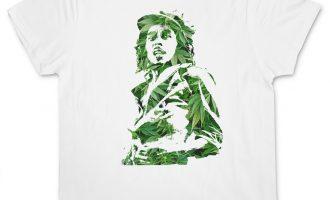 GANJA BOB I T-SHIRT - Jamaica Marley Cannabis Hemp Reggae Wailers Marijuana 11