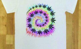 Mens Spiral Tie Dye Dope Chef Cannabis 420 Wiz Khalifa Prosto Medical Marijuana 6