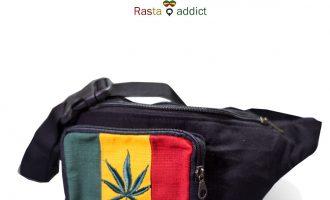 Rasta Marijuana S . Waist Bag Reggae Jamica Fanny Pack Bag Adjustable Belt 3