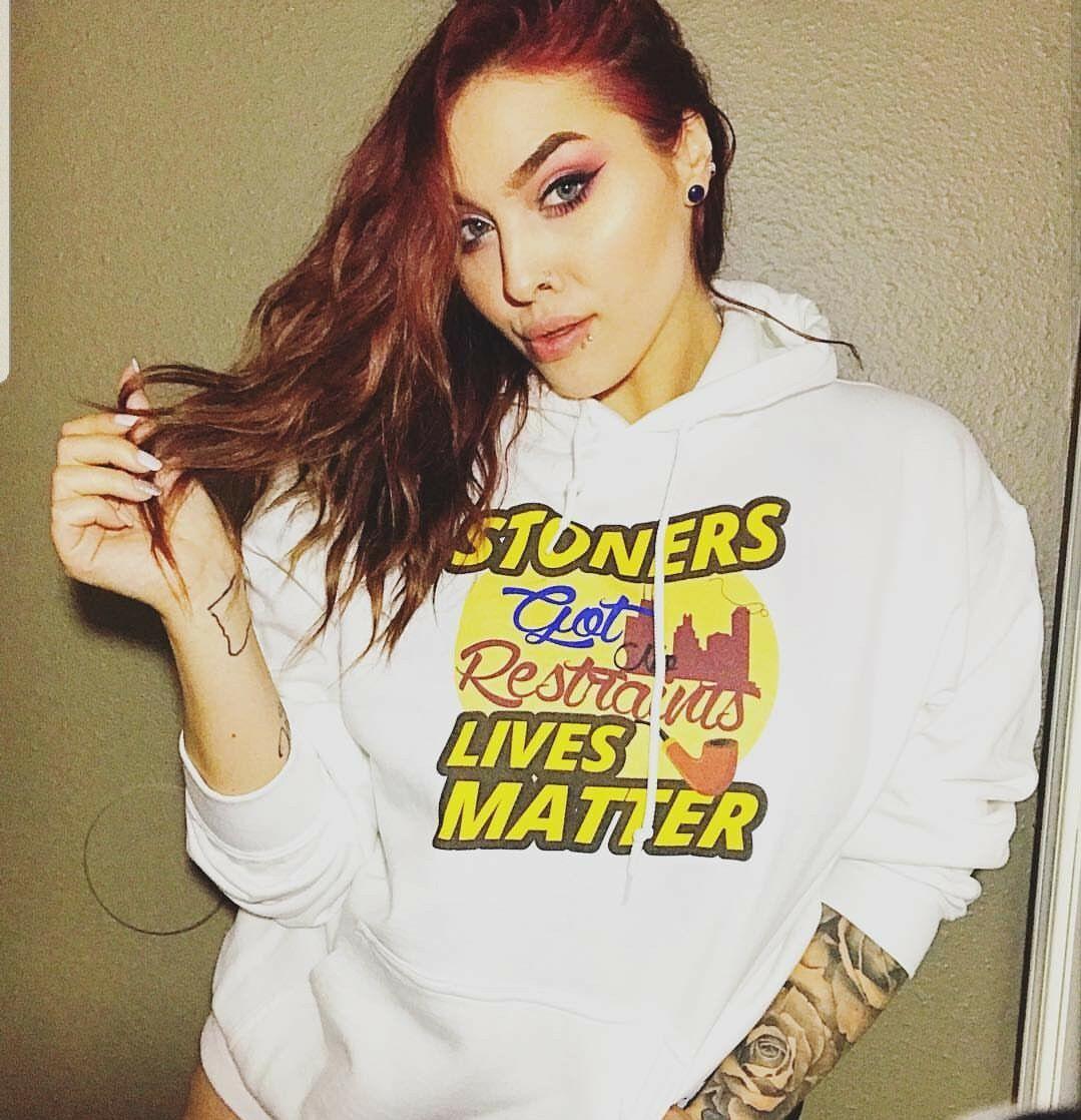 Stoners Lives Matter Pot Leaf Rasta Hoodie 420 Weed Smoking Reggae Marijuana 1