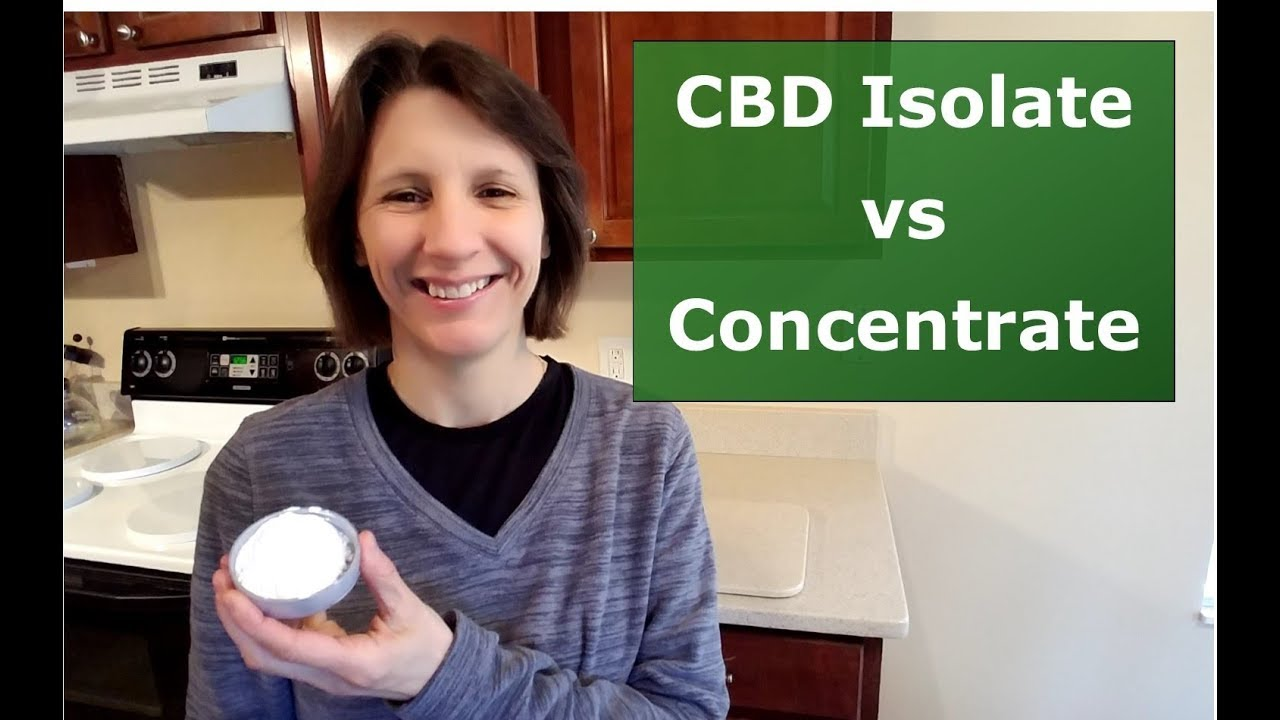 Is Your CBD Oil A Concentrate or Isolate? You Need To Know 1