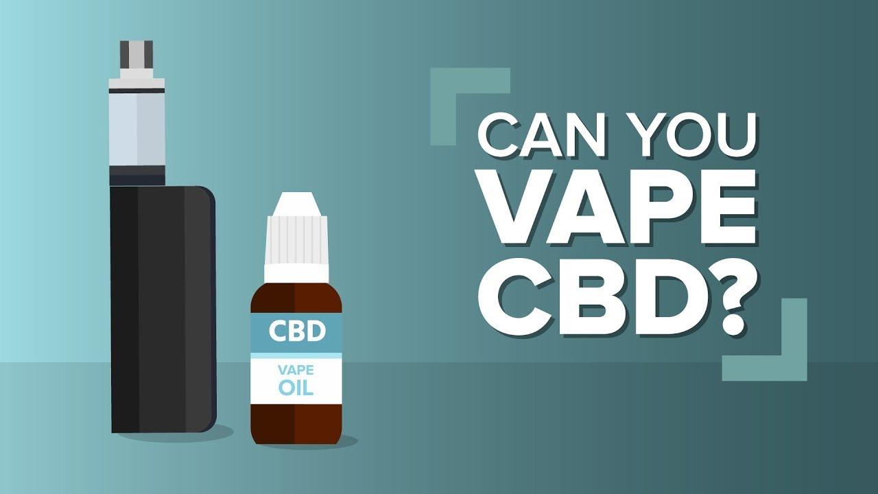 Can You Vape CBD Hemp oil? 1