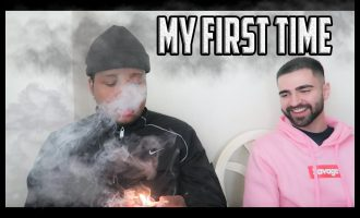 FILMED MY 1ST TIME EVER SMOKING WEED !! *** I CRIED *** 9
