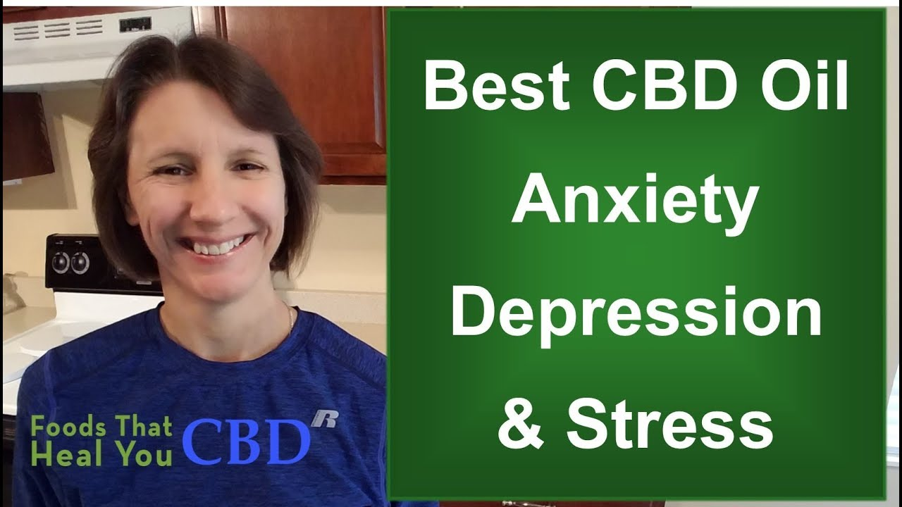 Best CBD Oil for Stress, Anxiety, PTSD, Sleep... 1
