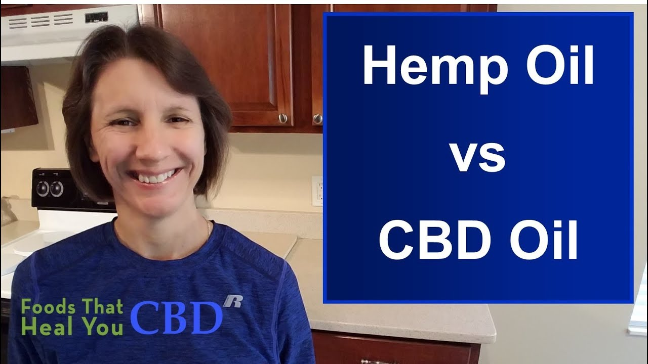 Hemp Oil vs CBD Oil 1