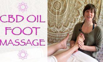 Relaxing Foot Massage with CBD Hemp Oil | 12 minutes with Jen Hilman 4