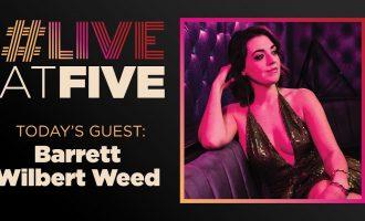 Broadway.com #LiveatFive with Barrett Wilbert Weed of MEAN GIRLS 13
