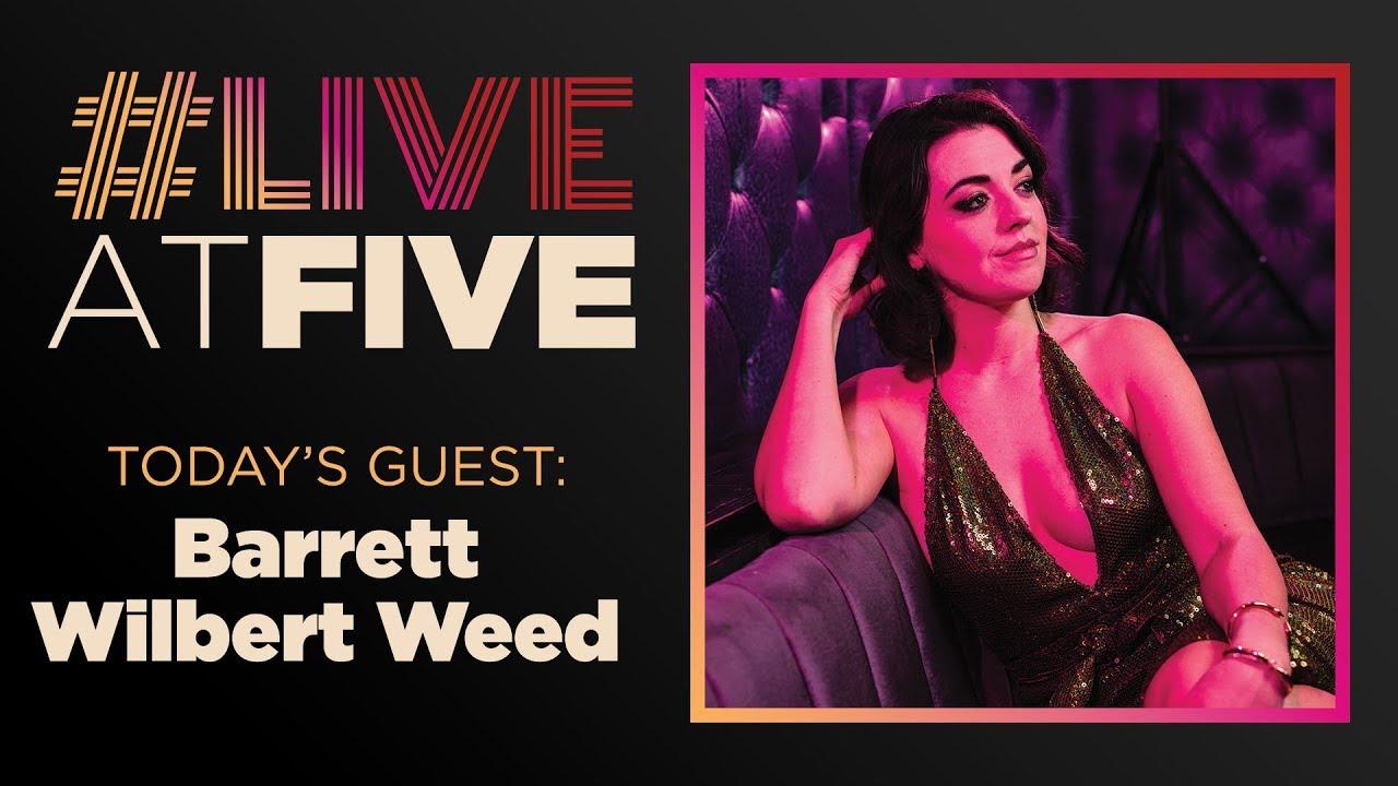 Broadway.com #LiveatFive with Barrett Wilbert Weed of MEAN GIRLS 1