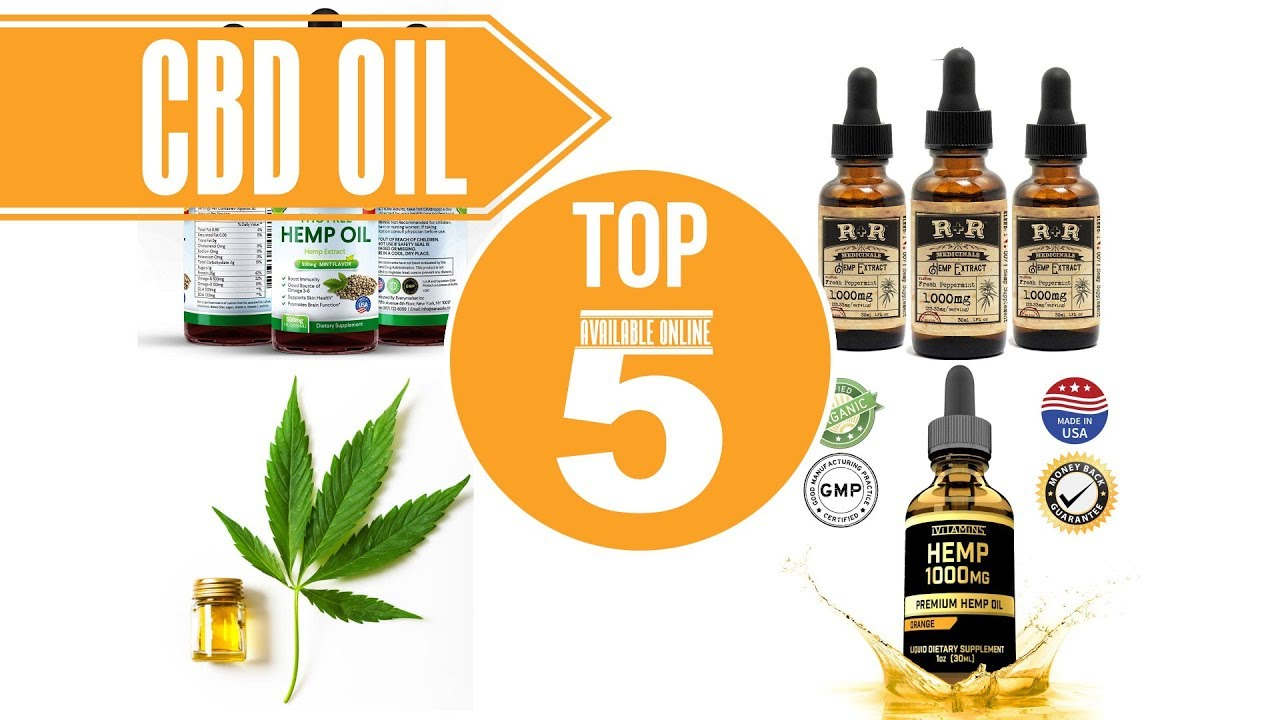 CBD OIL: TOP 5 AVAILABLE ONLINE 1