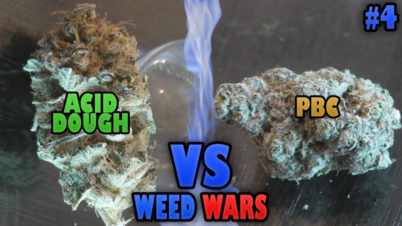 WEED WARS: Acid Dough vs Peanut Butter Cookies 1