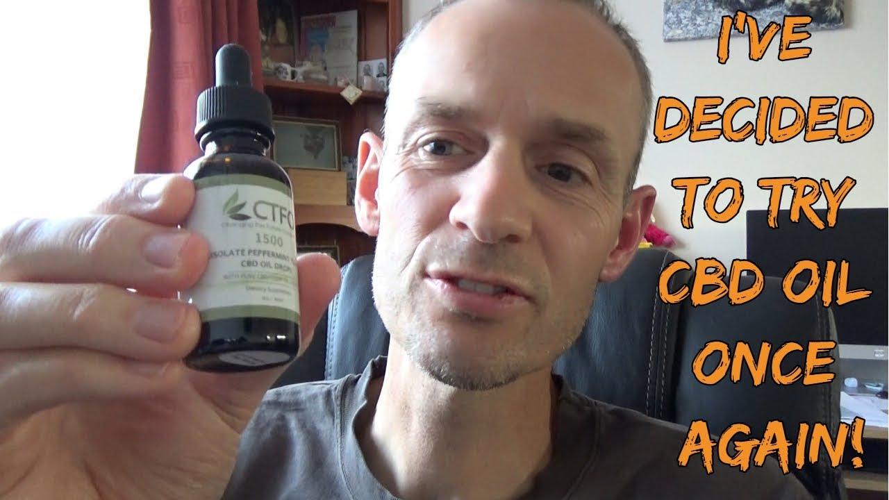 I'm trying CBD oil again | Multiple Sclerosis | Chronic Illness 1