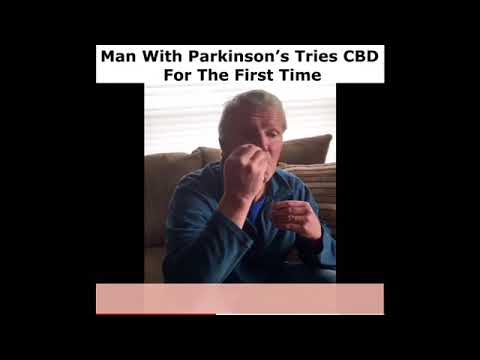 Man with Parkinson's tries CBD oil for the first time. See his results! 1