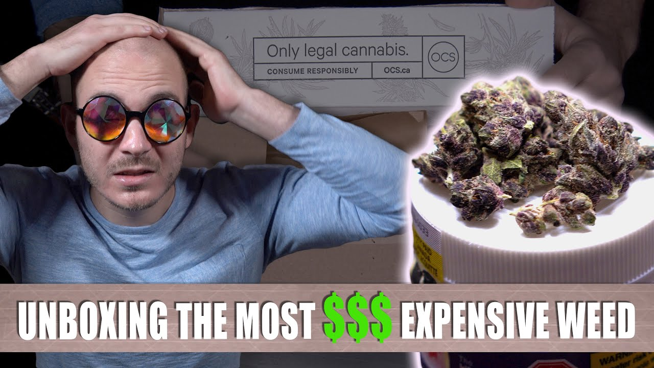 "Unboxing LEGAL Canadian Weed #2: ""DID THE QUALITY IMPROVE?!"" 1"