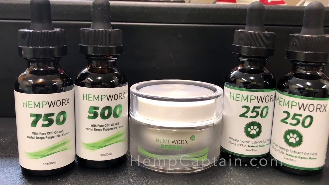 HempWorx CBD Reviews and Product Guide 1