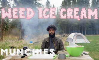 How To Make Campfire Ice Cream with Weed   Smokeables 10