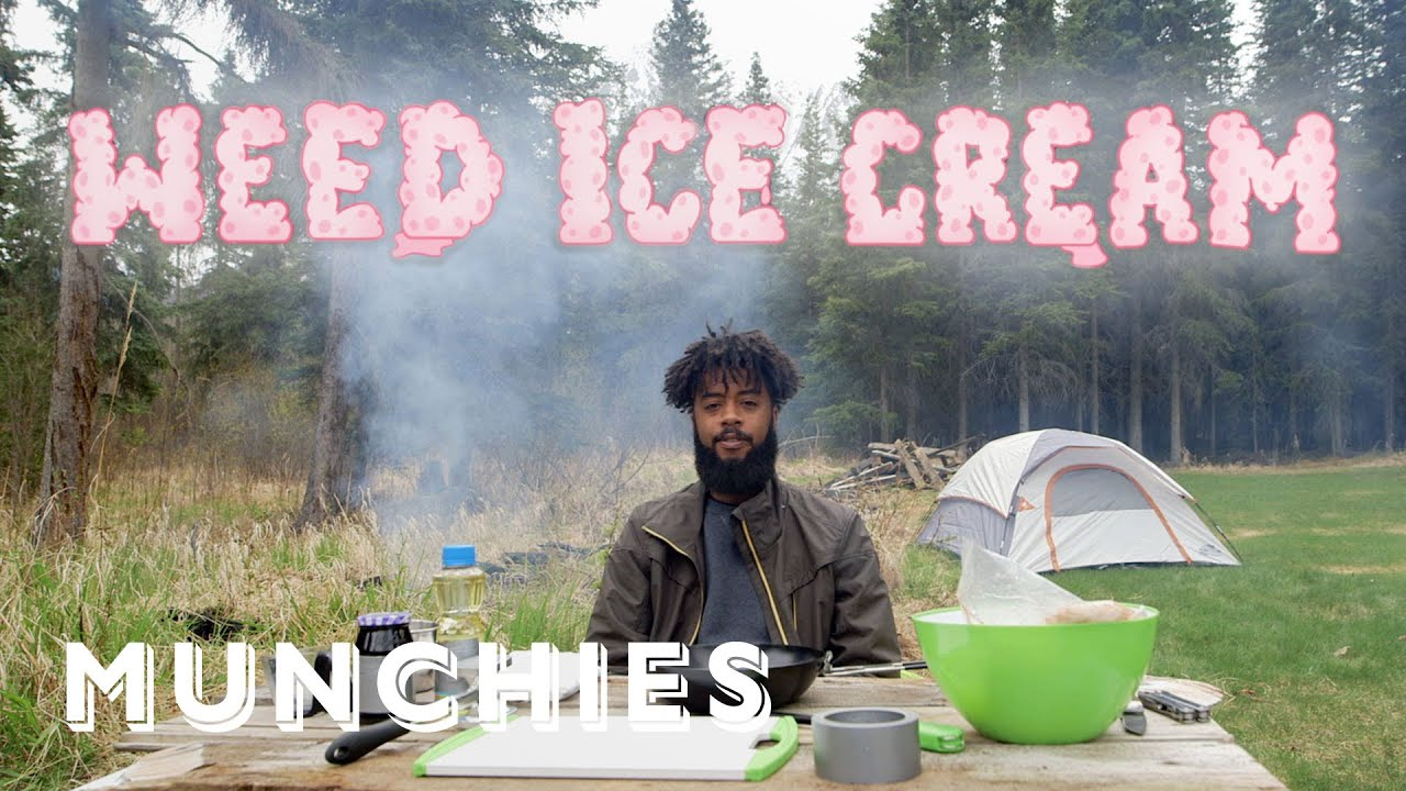How To Make Campfire Ice Cream with Weed | Smokeables 1