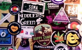 Colorado Cannabis Stickers & Collectibles (420, Grass, Marijuana, Pot, Weed) 10