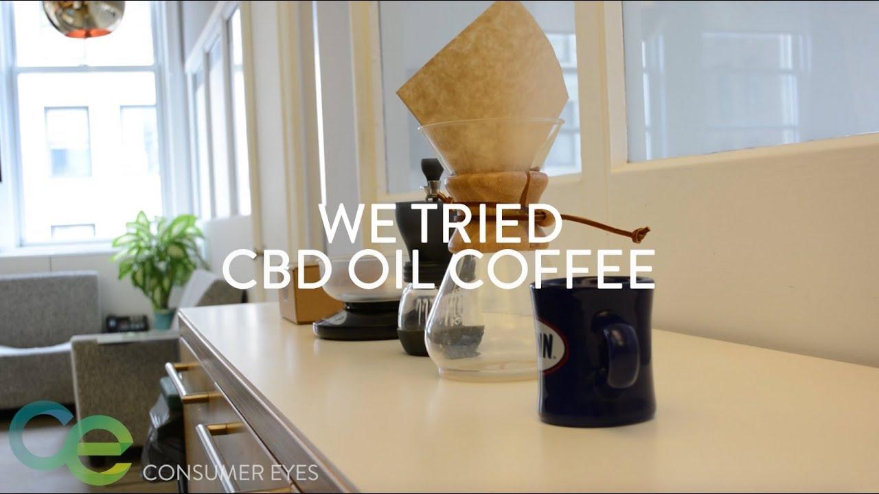 We Tried CBD Oil Coffee 1