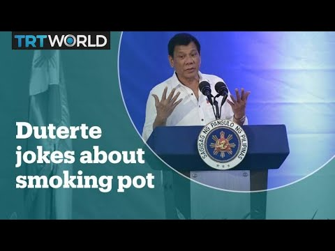 Philippines president jokes about smoking marijuana 1