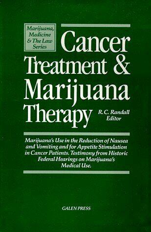 CANCER TREATMENT & MARIJUANA THERAPY: MARIJUANA'S USE IN 1