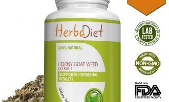 Horny Goat Weed 20% Icariin Extract 500mg Capsules Epimedium 13