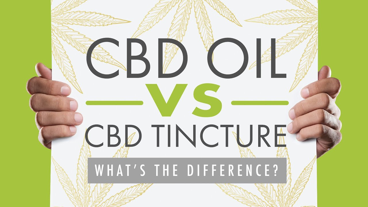 CBD Oil vs CBD Tincture: What's the Difference? [2019 Guide] 1