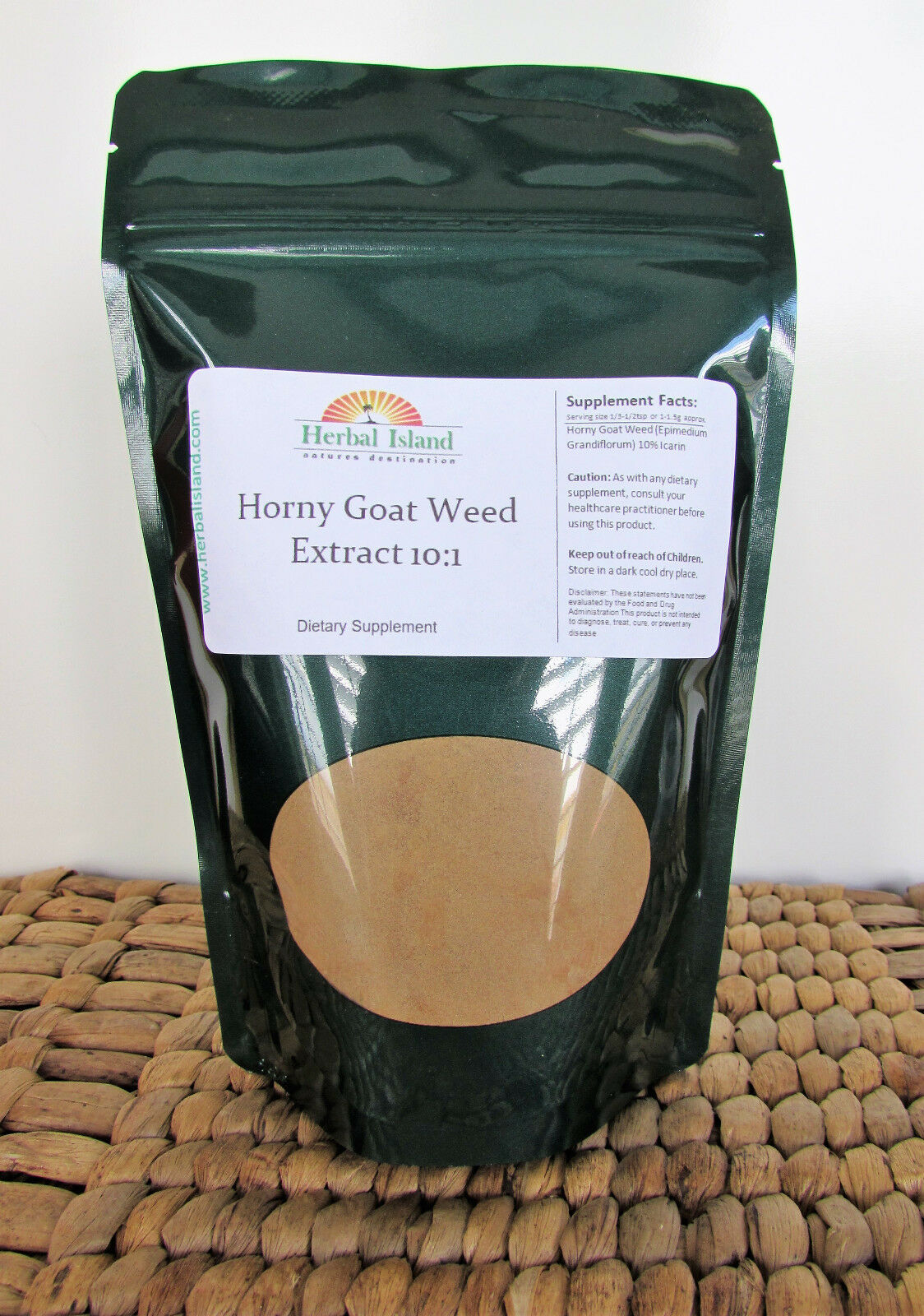 Horny Goat Weed Powder 10:1 Extract - Free Shipping - Non GMO 1