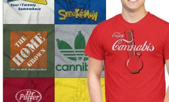 Stoner Tee Shirt Graphic Pot T-Shirt For Mens Womens Marijuana Gift TShirts T 8